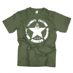 Tee-shirt US ARMY star vintage