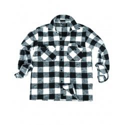 Chemise canadienne Noire-Blanc