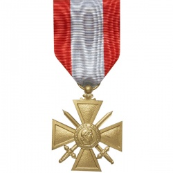 Médaille ordonnance Croix de Guerre TOE
