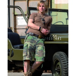 Short Paratrooper Woodland