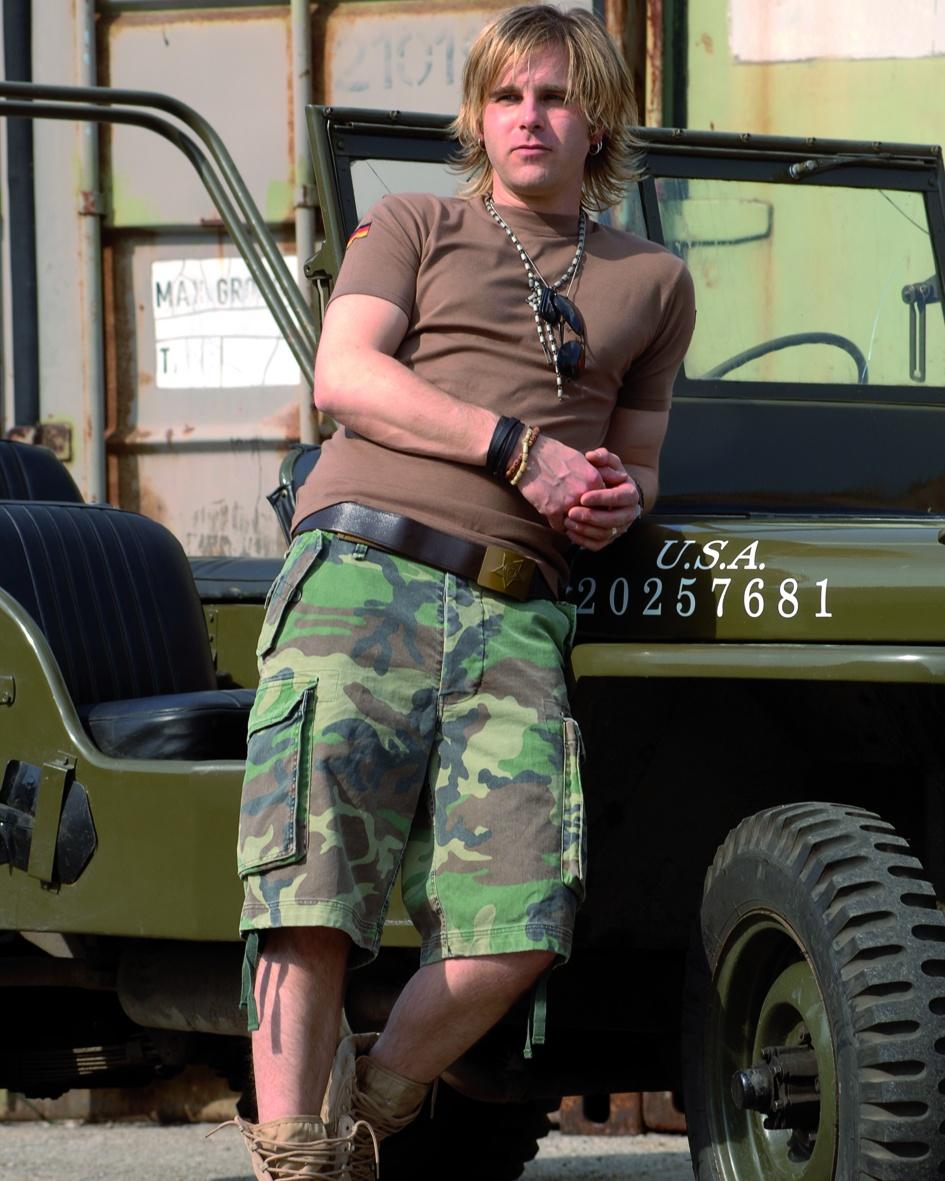 Woodland paratrooper short d/élav/é
