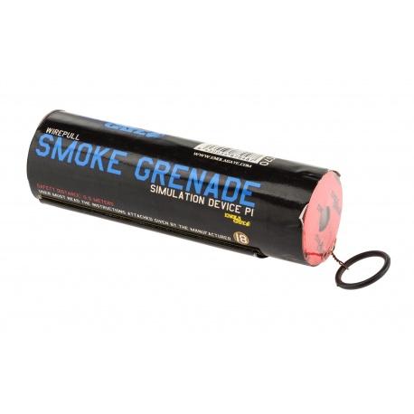Fumigène à goupille BLEU