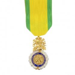 Médaille ordonnance militaire Argent