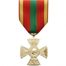 Médaille ordonnance Combattant volontaire 39/45