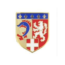 Ecu métal Gendarmerie Rhône Alpes