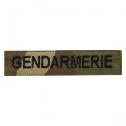Bande poitrine auto-agrippant Cam Gendarmerie