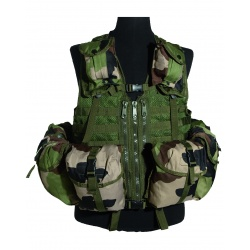 Gilet tactique multipoches CAM CE