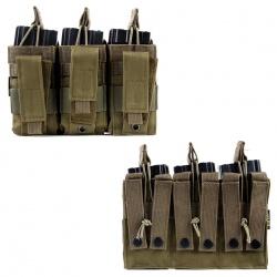 Porte chargeur triple type M4 + PA