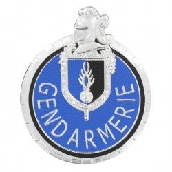 Ecusson Gendarmerie Départementale Motard plastique