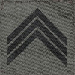 Galon militaire basse visibilité Sergent chef