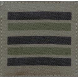 Galon militaire basse visibilité Lieutenant Colonel