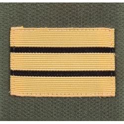 Galon militaire ADT Haute visibilité Capitaine