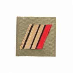 Galon militaire ADT Haute visibilité Caporal Chef 2ème classe