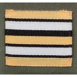 Galon militaire ADT Haute visibilité Lieutenant Colonel