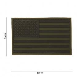 Ecusson USA basse visibilité PVC
