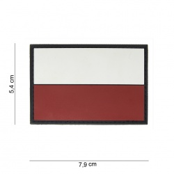Ecusson POLOGNE PVC