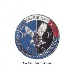 Médaille porte-carte Gendarmerie PSIG