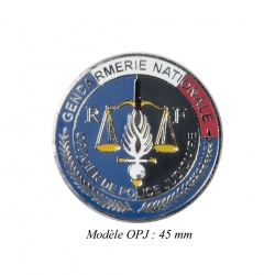 Médaille porte-carte Gendarmerie OPJ