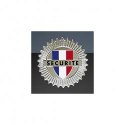 Médaille porte-carte Sécurité