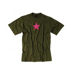 Tee-shirt étoile rouge