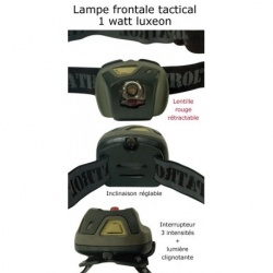 Lampe frontale PATROL