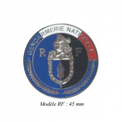Médaille porte-carte Gendarmerie RF