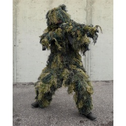 "Ghillie 4 pièces ""Woodland"""
