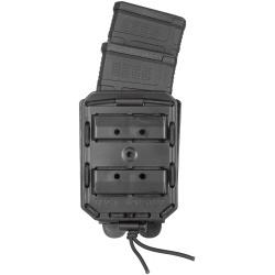 Porte chargeur BUNGY double M4 Noir - VEGA HOLSTER