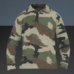 Chemise F1 polaire camouflage