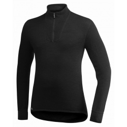 Zip turtleneck 200g/m² Wool
