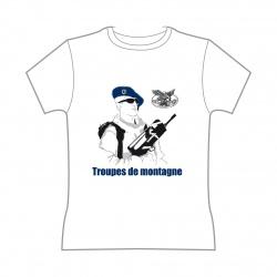 Tee-shirt Troupe de Montagne