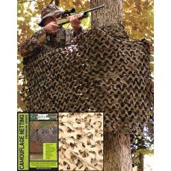 Filet de camouflage 6m*3m Beige