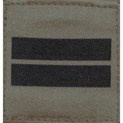 Galon militaire basse visibilité Lieutenant
