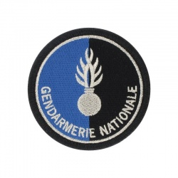 Ecusson Gendarmerie Nationale tissu