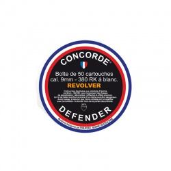 Balle à blanc 9mm CONCORDE