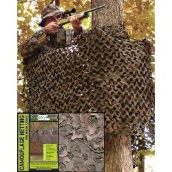 Filet de camouflage 3m*3m Woodland