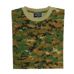 Tee-shirt Digital Woodland