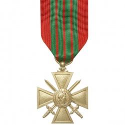 Médaille ordonnance Croix de Guerre 39/45