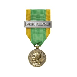 Médaille ordonnance Engagé volontaire