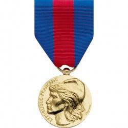 Médaille ordonnance Service Militaire Volontaire Bronze