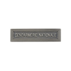 "Agrafe ordonnance "" GENDARMERIE NATIONALE"""