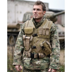 Gilet tactique type USMC Coyote