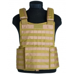 Gilet tactique Molle Coyote