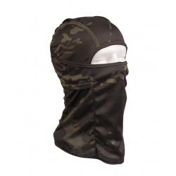 """Cagoule ninja type """"Multicam Black"""""""