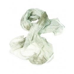 Chèche filet Camouflage Blanc