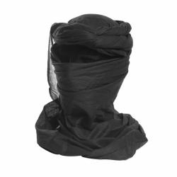 Chèche coton Noir