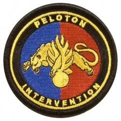 Ecusson Peloton d'Intervention tissu