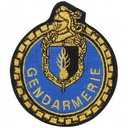 Ecusson Gendarmerie motard Mobile tissu