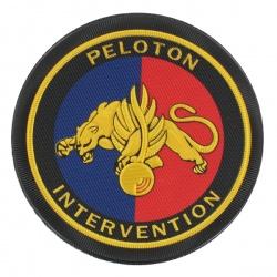 Ecusson Gendarmerie Peloton d'Intervention Plastique