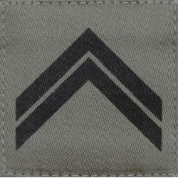 Galon militaire basse visibilité Sergent